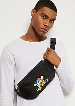 Black Legendary Banana Donut Fanny Pack