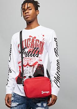 Red Box Savage Adjustable Crossbody Bag