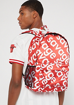 Red Savage Backpack