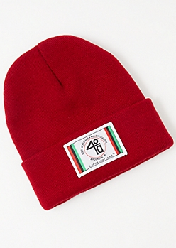 Do The Right Thing Red Beanie