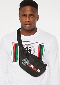 Do The Right Thing Black Fanny Pack
