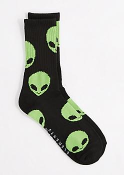 Extraterrestrial Crew Socks