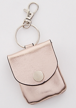 Rose Gold Cord Keeper Handbag Charm