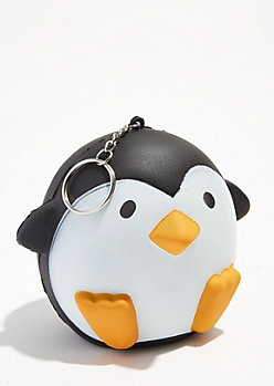 Penguin Squishie Keychain