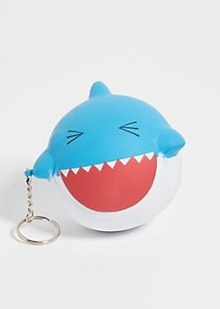 Shark Squishie Keychain