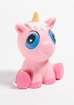 Pink Unicorn Squishie