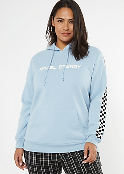 Plus Blue Angel Energy Hoodie