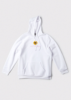 Plus All The Feels Sunflower Hoodie