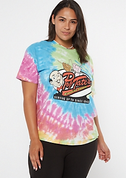 Plus Tie Dye Riverdale Pop Tate