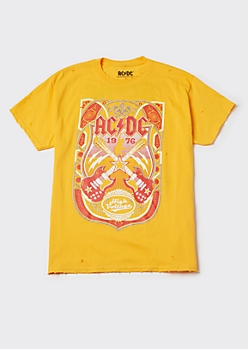 Plus ACDC High Voltage Graphic Tee