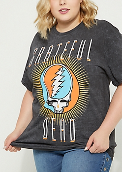 Plus Grateful Dead Vintage Washed Tee