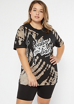Plus Bleached Baby Got Back Graphic Tee