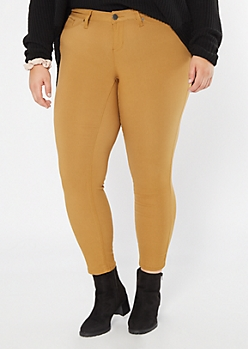 Plus YMI Camel Hyperstretch Skinny Jeans