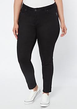 Plus YMI Wanna Betta Butt Black Skinny Jeans