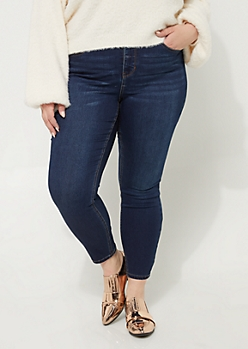 Plus Vintage Soft High Rise Jeggings