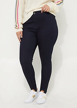 Plus Stirrup Uber High Rise Jeggings