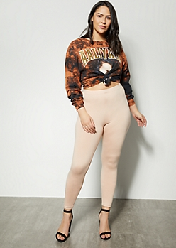 Plus Nude High Waisted Essential Super Soft Leggings