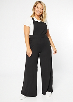 Plus Black Super Soft Overall Jumper
