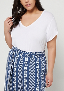 Plus White Favorite Relaxed Fit Tee