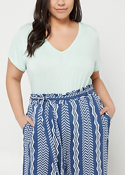 Plus Mint Favorite Relaxed Fit Tee