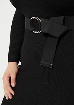 Stretch Double Ring Belt - Wider Fit