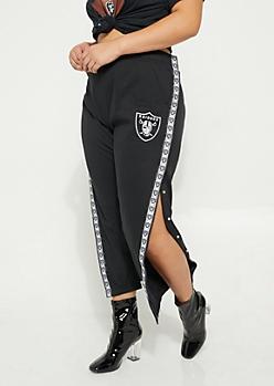 Plus Oakland Raiders Logo Joggers
